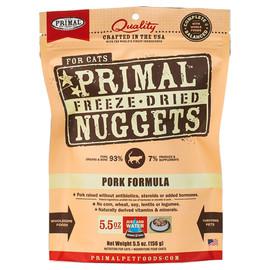 Primal Pork Formula Raw Freeze-Dried Cat Food - Front