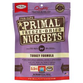 Primal Turkey Formula Raw Freeze-Dried Cat Food - Front
