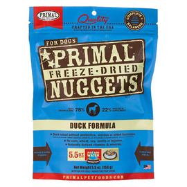 Primal Duck Formula Raw Freeze-Dried Dog Food - Front