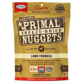 Primal Lamb Formula Raw Freeze-Dried Dog Food - Front