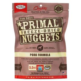 Primal Pork Formula Raw Freeze-Dried Dog Food - Front