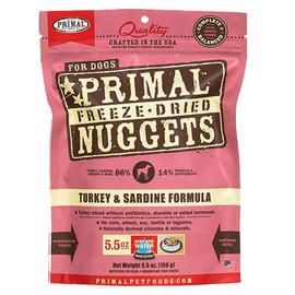 Primal Turkey & Sardine Formula Raw Freeze-Dried Dog Food - Front
