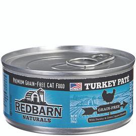 Redbarn Naturals Grain-Free Turkey Recipe Pate Canned Cat Food