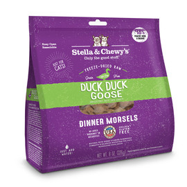 Stella & Chewy's Duck Duck Goose Dinner Freeze-Dried Cat Food