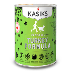 Kasiks Cage-Free Turkey Formula Canned Dog Food