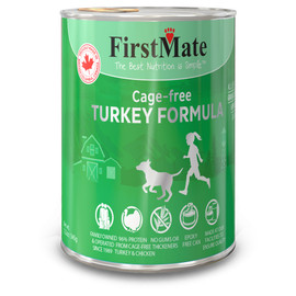 FirstMate Limited Ingredient Cage-Free Turkey Formula Canned Dog Food