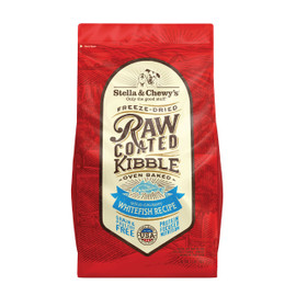 Stella & Chewy's Wild-Caught Whitefish Recipe Raw Coated Kibble Dry Dog Food
