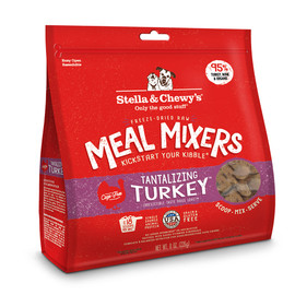 Stella & Chewy's Tantalizing Turkey Freeze-Dried Raw Dog Meal Mixers