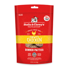 Stella & Chewy's Chicken Dinner Patties Freeze-Dried Raw Dog Food