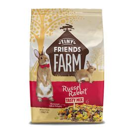 Tiny Friends Farm Russel Rabbit Tasty Mix Food - Front