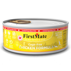 FirstMate Limited Ingredient Cage-Free Chicken Formula Canned Cat Food