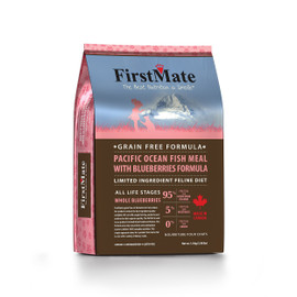FirstMate Pacific Ocean Fish Meal With Blueberries Formula Dry Cat Food
