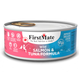 FirstMate 50/50 Wild Salmon & Wild Tuna Formula Canned Cat Food