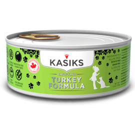 Kasiks Cage-Free Turkey Formula Canned Cat Food