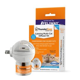 ThunderEase Multi-Cat Calming Diffuser Kit