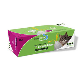 Van Ness Drawstring Cat Pan Liners  - Small