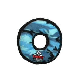 Tuffy Jr. Ring Blue Dog Toy