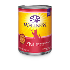 Wellness Complete Health Pate Beef & Chicken Canned Cat Food