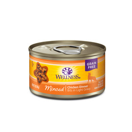 Wellness Complete Health Minced Chicken Dinner Canned Cat Food