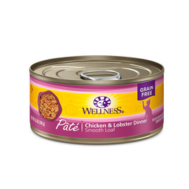 Wellness Complete Health Pate Chicken & Lobster Canned Cat Food