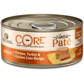 Wellness CORE Pate Chicken, Turkey & Chicken Liver Canned Cat Food