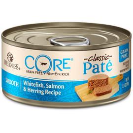 Wellness CORE Pate Whitefish, Salmon & Herring Canned Cat Food