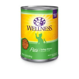 Wellness Complete Health Pate Turkey Canned Cat Food