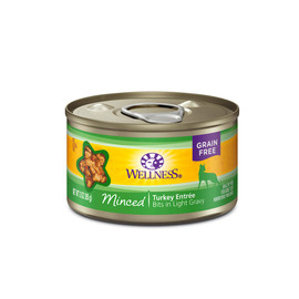 Wellness Complete Health Minced Turkey Entree Canned Cat Food