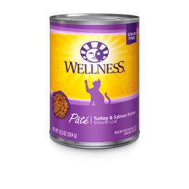 Wellness Complete Health Pate Turkey & Salmon Canned Cat Food