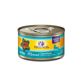 Wellness Complete Health Minced Tuna Dinner Canned Cat Food