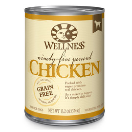 Wellness Ninety-Five Percent Mixer or Topper Chicken Canned Dog Food