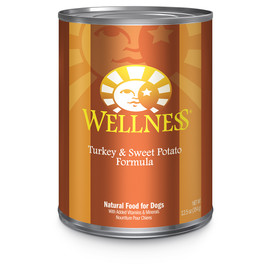 Wellness Complete Health Turkey and Sweet Potato Pate Canned Dog Food