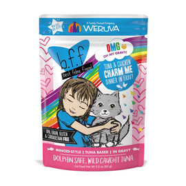 B.F.F. Tuna & Chicken Charm Me Recipe in Gravy Cat Food Pouch