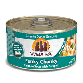 Weruva Funky Chunky Chicken Soup with Pumpkin Canned Cat Food