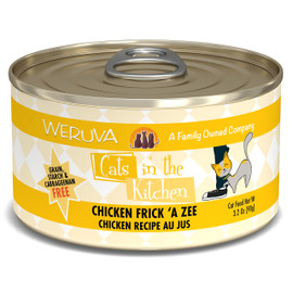 Cats in the Kitchen Chicken Frick 'A Zee Chicken Recipe Au Jus Canned Cat Food