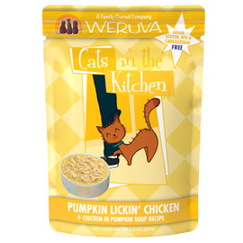 Cats in the Kitchen Pumpkin Lickin' Chicken Cat Food Pouch