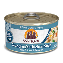 Weruva Grandma's Chicken Soup with Chicken and Pumpkin Canned Cat Food
