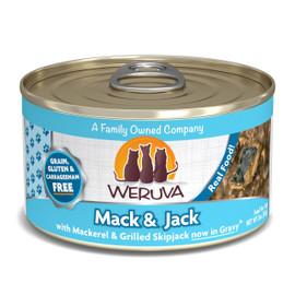 Weruva Mack & Jack with Mackerel and Grilled Skipjack Canned Cat Food
