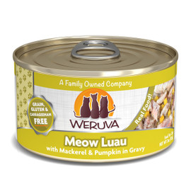 Weruva Meow Luau with Mackerel and Pumpkin in Gravy Canned Cat Food