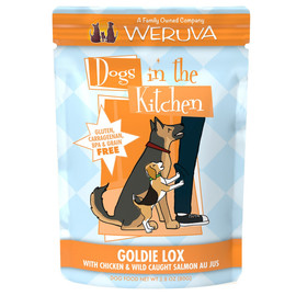 Dogs in the Kitchen Goldie Lox with Chicken & Wild Caught Salmon Au Jus Dog Food Pouch