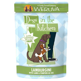 Dogs in the Kitchen Lamburgini with Lamb & Pumpkin Au Jus Dog Food Pouch