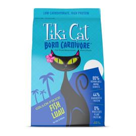 Tiki Cat Born Carnivore Fish Luau Dry Cat Food