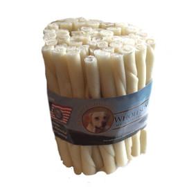 Wholesome Hide Rawhide Twist Chew Treats 50ct