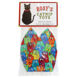 Rosy's Catnip Cat Face Cat Toy