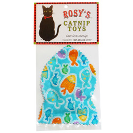 Rosy's Catnip Fish Cat Toy