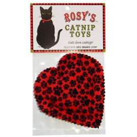 Rosy's Catnip Heart Cat Toy