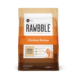 Rawbble Chicken Recipe Dry Dog Food - Front