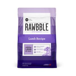 Rawbble Lamb Recipe Dry Dog Food - Front