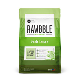 Rawbble Pork Recipe Dry Dog Food - Front