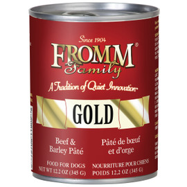Fromm Pate Beef & Barley Pate Canned Dog Food